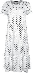 Robe Blanche Tiered Smock