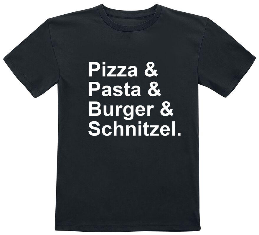 Enfants - Pizza & Pasta & Burger & Schnitzel