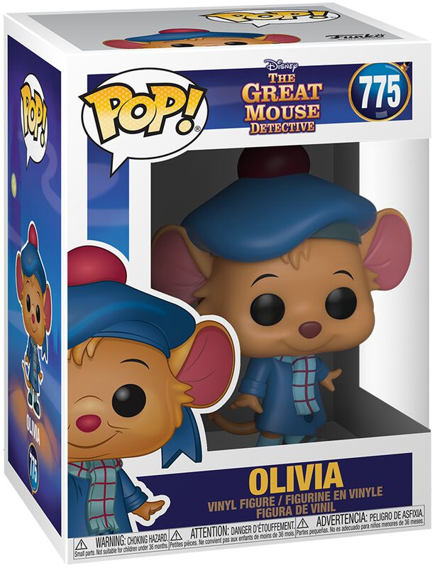 Basil, Détective Privé Olivia - Funko Pop! n°775