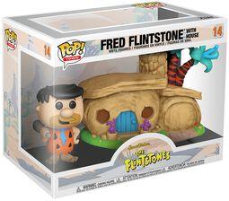 The Flintstones Fred Flintstone with House (POP! Town) Vinyl Figure 14