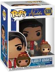Aladdin D'Agrabah Avec Abu - Funko Pop! n°538