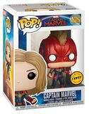 """Captain Marvel (Édition """"Chase"""" Possible) - Funko Pop! n°425"""