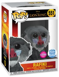 Rafiki (Flocked) (Funko Shop Europe) - Funko Pop! n°551