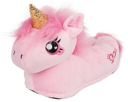 Chaussons Adultes Licorne Rose