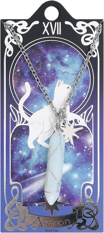 Tarot Astron Chat Blanc