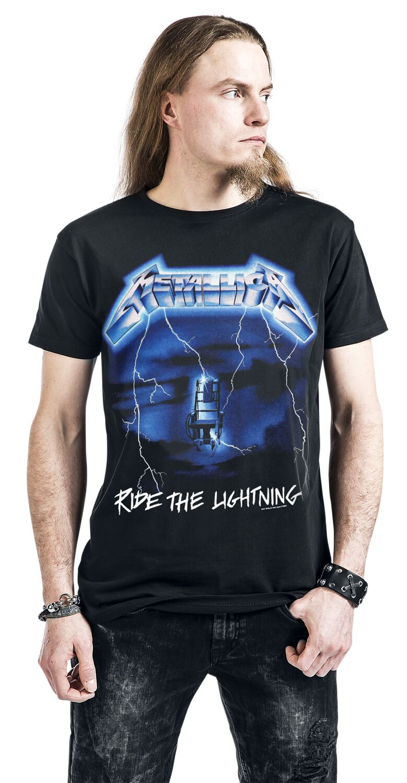 METALLICA ride the lightning Chaise électrique Hommes Sweat-shirt Taille M