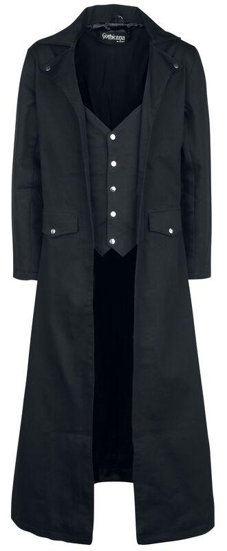 Long Manteau Noir