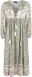 Robe Mi-Longue Florale