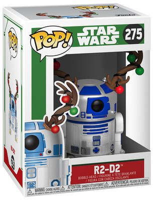 Figurine En Vinyle R2-D2 (Holiday) 279 - Édition Chase Possible 279
