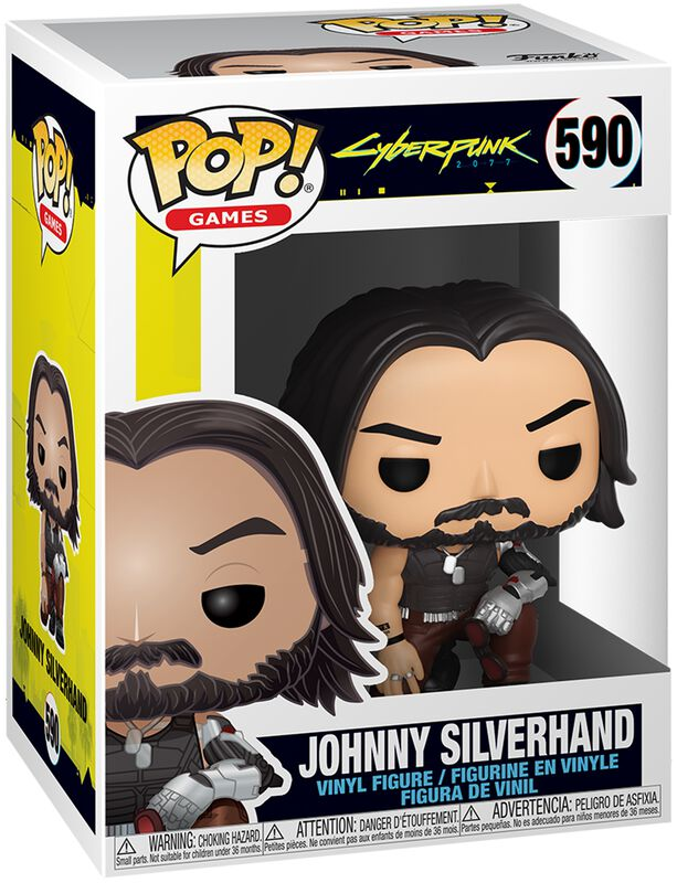 Johnny Silverhand - Funko Pop! n°590