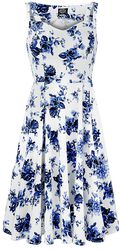 Robe trapèze Blue Rosaceae