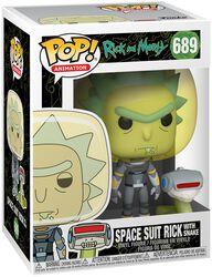 Saison 4 - Rick Costume Astronaute Avec Serpent - Funko Pop! n°689