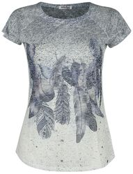 T-shirt Feather Drop