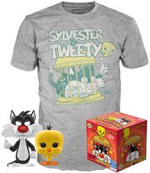 Sylvestre & Titi - T-Shirt + Funko - Pack Fan