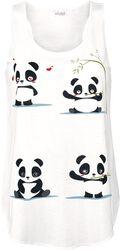 Débardeur Panda Vibes