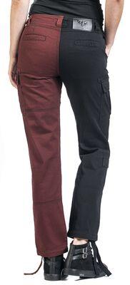 Pantalon Cargo Bicolore