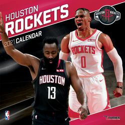 Houston Rockets - Calendrier 2021