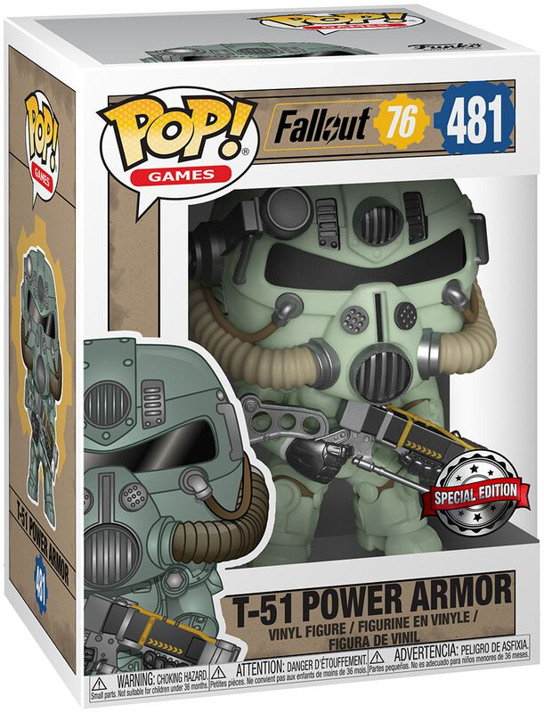 Fallout 76 - T-51 Power Armor - Funko Pop! n°481