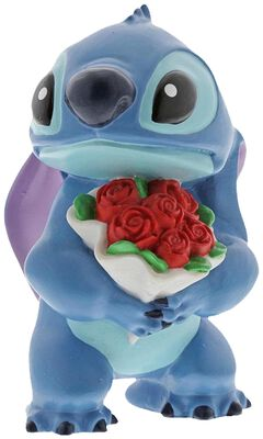 Figurine Stitch & Fleurs