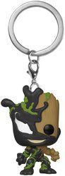 Porte-clés Venomized Groot Pocket POP!