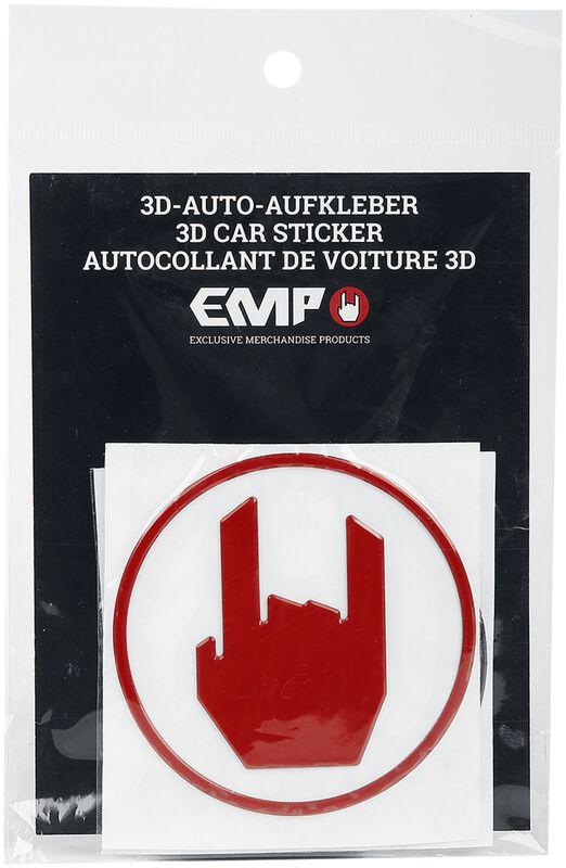Lot De 3 Stickers Pour Voiture