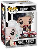 Cruella d'Enfer (Glitter) - Funko Pop! n°736