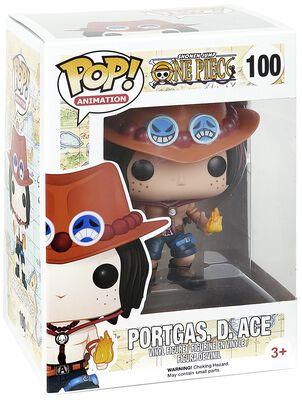 Figurine En Vinyle Portgas D. Ace No. 100