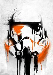 Plaque (Banksy) Stormtrooper