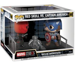 Figurine En Vinyle Red Skull vs. Captain America (Movie Moments) 389