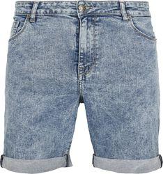 Short En Jean Slim 5 Poches