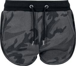 Short À Imprimé Camouflage