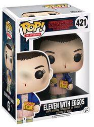 Figurine En Vinyle Onze Avec Des Eggos 421 (Chase Possible)