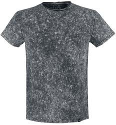 T-Shirt Noir Délavé