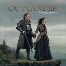 Outlander - Calendrier Mural 2020
