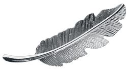 Feather Hairpiece