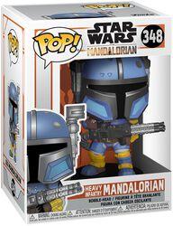 The Mandalorian - Heavy Infantry Mandalorian - Funko Pop! n°348