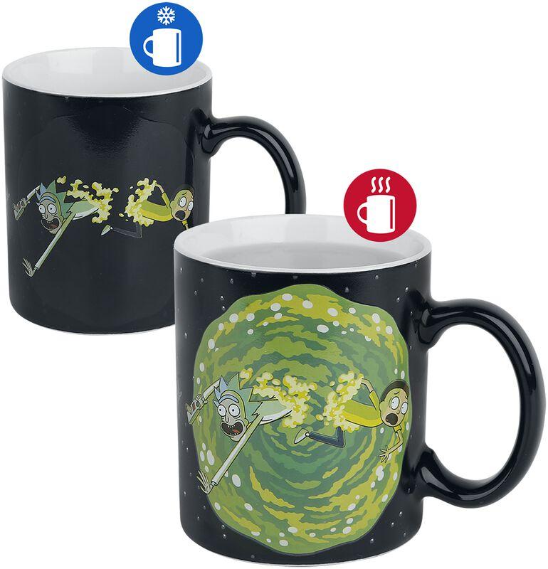 Portail - Mug Thermo-Réactif