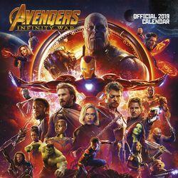 Infinity War - Wall Calendar 2019