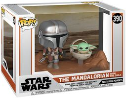 The Mandalorian - The Mandalorian & L'Enfant (Movie Moments) - Funko Pop! n°390