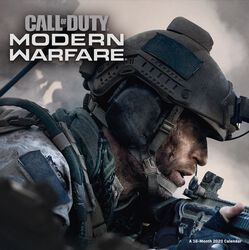 Call of Duty - Calendrier Mural 2020