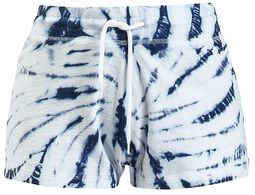 Short Batik Bleu/Blanc