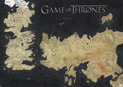 Carte- Westeros & Essos