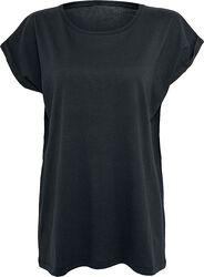 T-Shirt Femme Épaules Lâches