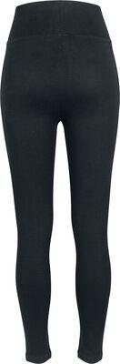 Leggings Taille Haute En Jersey Femme