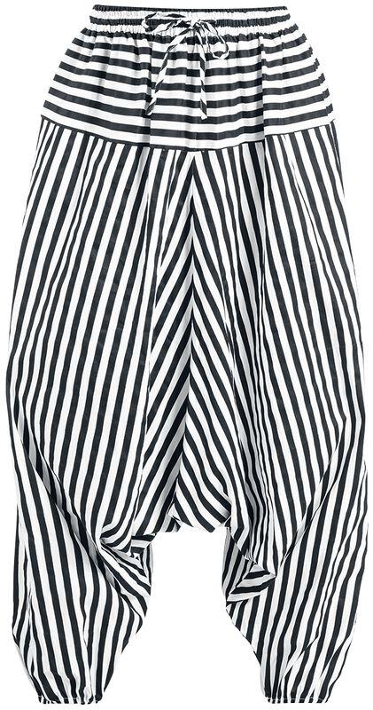 Pantalon Harem Rayé