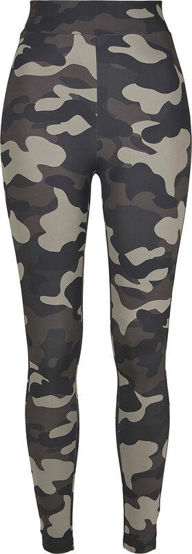 Leggings Taille Haute Camouflage