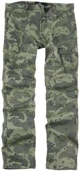 Pantalon Cargo avec motif camouflage