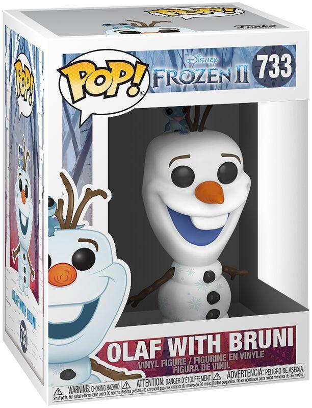 La Reine Des Neiges 2 - Olaf & Bruni - Funko Pop! n°733