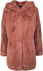 Manteau À Capuche Teddy