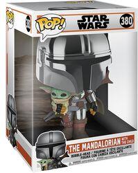 The Mandalorian - The Mandalorian & Grogu (Jumbo Pop!) - Funko Pop! n°380